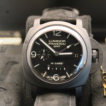 沛納海 PAM00335  Luminor 1950 10 Days Ceramic GMT Black Dial
