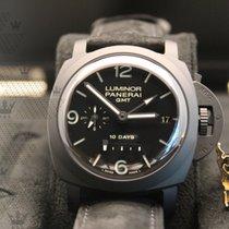 沛納海 PAM00335  Luminor 1950 10 Days Ceramic GMT Black Dial