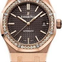 Audemars Piguet Royal Oak Lady Rose gold 37mm Brown No numerals United Kingdom, London