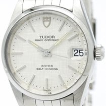 チュドール (Tudor) Polished  Prince Date Steel Automatic Mid Size...