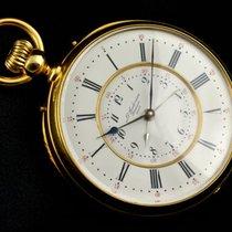 Rare Louis Audemars Brassus – 2 time zones pocket watch - Men...