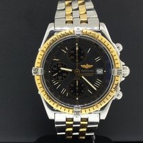 Breitling Crosswind 43mm Two Tone 18k Yellow Gold & Stainless...