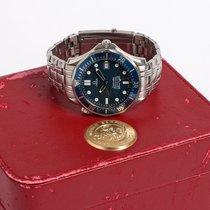 "Omega Seamaster Diver 300 M ""bond"" blue wave 41mm automatic"