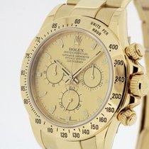 Rolex Daytona 18K Yellow Gold 116528 Box & Swiss Papers 2011