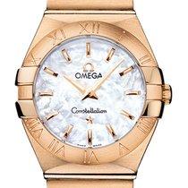 Omega Oro rosado 27mm Cuarzo Constellation nuevo