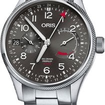 Oris Big Crown ProPilot Calibre 114 Steel 44mm Grey United States of America, New York, Airmont