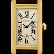 Cartier Tank Americaine Gold W2603556