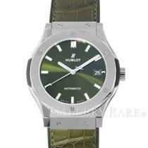"""휘블로 Classic Fusion Green Dial Titanium Automatic 45MM """"New"""""""