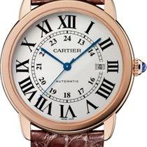 Cartier Ronde Solo de Cartier Or rose 42mm Argent Romain France, Thonon les bains