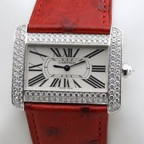 Cartier Tank Divan White gold 38mm White Roman numerals