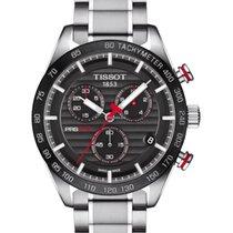 Tissot Chronograaf 42mm Quartz 2018 nieuw PRS 516 Zwart