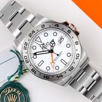 Rolex Explorer II tweedehands 42mm Staal