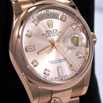 Rolex 118205F Or rose Day-Date 36 36mm occasion