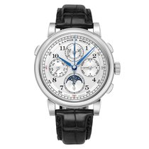 A. Lange & Söhne pre-owned Manual winding 41.9mm Silver