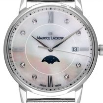 Maurice Lacroix Damenuhr Eliros 35mm Quarz neu Uhr mit Original-Box und Original-Papieren