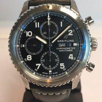 Breitling Navitimer 8 nuevo 2019 Automático Cronógrafo Reloj con estuche y documentos originales A13314101B1X1