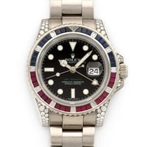 Rolex 116759SARU White gold 2000 GMT-Master II 40mm pre-owned
