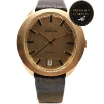 Marvin Or jaune 34mm Remontage automatique S 8642 A occasion