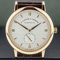 A. Lange & Söhne Rose gold 37mm Manual winding 215.032 pre-owned United States of America, Massachusetts, Boston