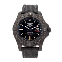 Breitling Avenger Blackbird pre-owned 48mm Black Date Textile
