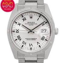 Rolex Air King Steel 34mm Silver
