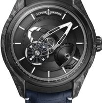 Ulysse Nardin Carbon Automatic Black 43mm new Freak