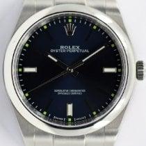 Rolex Oyster Perpetual 39 Çelik 39mm Mavi Sayılar yok