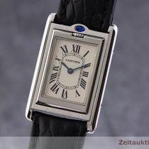 Cartier Stål 23.5mm Kvarts 2405 brugt