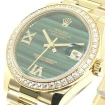 Rolex Yellow gold 36mm Automatic Datejust new