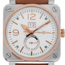 Bell & Ross BR 03-90 Grande Date et Reserve de Marche Gold/Steel 42mm Arabic numerals
