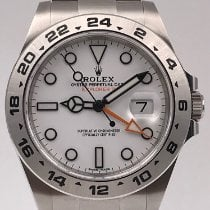 Rolex Explorer II Steel 42mm White No numerals United States of America, New York, New York