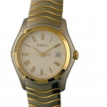 Ebel Classic Gold/Steel 27.5mm White Roman numerals