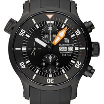 2-elements SUB two Automatic Chronograph (black edition)