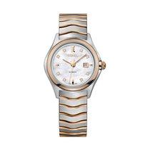Ebel Wave 1216199 EBEL WAVE lady oro rosso perla diamanti automatico new