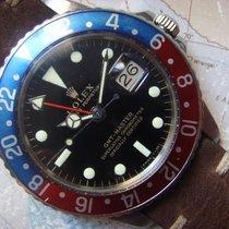 Rolex 1966 Beautiful Rolex GMT GILT Mirror Dial Ref 1675