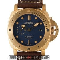 Panerai Bronze Automatic Blue 47mm new Special Editions