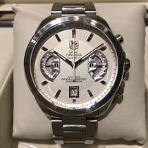 TAG Heuer Grand Carrera Chronograph Steel 43mm B&P