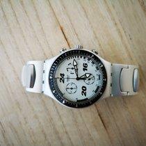 Swatch men's watch aluminium