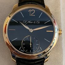 H.Moser & Cie. Rose gold 39mm Manual winding 1321-0101 pre-owned