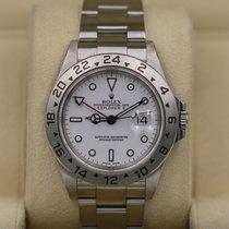 Rolex Explorer II White Dial No Holes Case