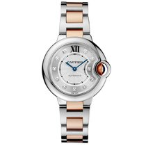 Cartier Ballon Bleu 33mm 33mm Silver