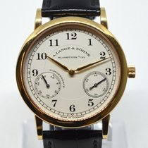 A. Lange & Söhne Rose gold 36mm Manual winding 221.032 pre-owned