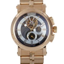 Breguet Marine pre-owned 42mm Rose gold