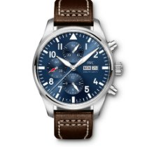 IWC Pilot Chronograph Steel 43mm Blue Arabic numerals UAE, Dubai
