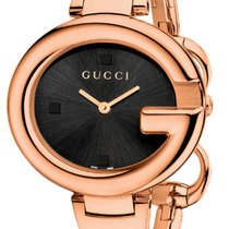 f920ae9e9ec Gucci Ya134305 Rose Gold Pvd Quartz Gold Pvd Quartz Ladies Watch ...