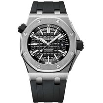 Audemars Piguet Royal Oak Offshore Diver Steel 42mm Black No numerals United Kingdom, Essex