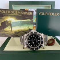 Rolex Sea-Dweller 4000 Steel 40mm Black No numerals United States of America, New Jersey, Edgewater