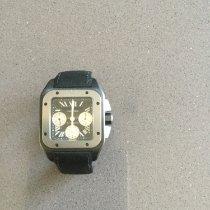Cartier Santos 100 Steel 41mm White Roman numerals United Kingdom, 1GD