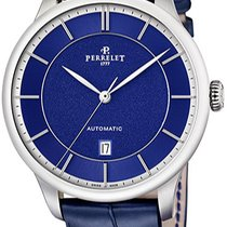 Perrelet Steel Automatic A1073.7 new