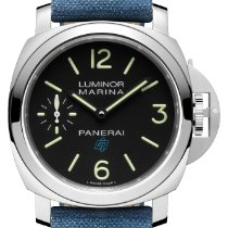Panerai Luminor Marina Steel 44mm Black Arabic numerals United States of America, New York, New York